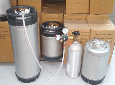 Kegs and Kegerator Items