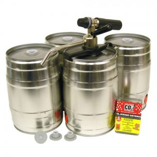 Party Star (Mini Kegs) and Supplies
